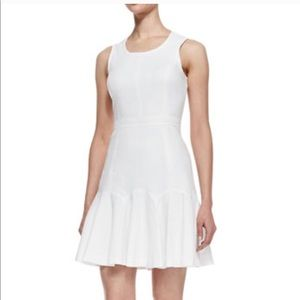 Ali Ro White fit and flare dress
